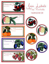 free printable jam labels the graphics