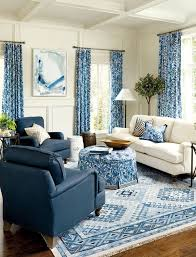 Myhomeideas by Blue And White Living Room Decorating Ideas Blue And White Living