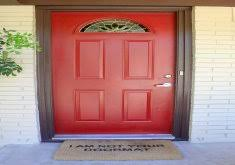 Beautiful Red Door Furniture The Simple Combination Of The Red - Red door furniture