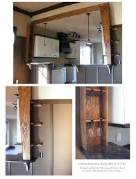 small metal wine rack under cabinet stemware rack ikea hanging