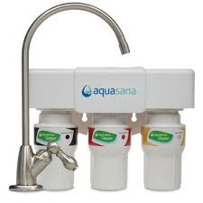 best rated under sink water filtration systems aquasana 3 stage under counter water filter system water filter