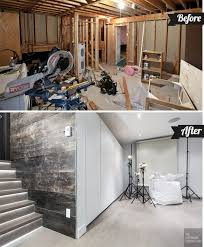 Subfloor Basement The Uncommon Law The Basement Studio Before And After