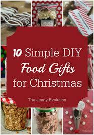christmas food gifts easy diy food gifts for christmas the evolution
