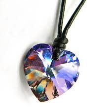 swarovski crystal necklace leather images Cheap swarovski leather necklace find swarovski leather necklace jpg