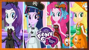 Pony Halloween Costume Girls Pony Equestria Girls Rarity Twilight Pinkie Pie