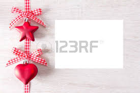checkered ribbon christmas tree decorations in shape of heart and with