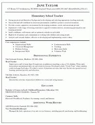 Substitute Teacher Resume Samples by Substitute Teacher Resume Examples Free Resume Example And