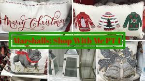 marshalls shop with me part one home decor u0026 christmas decor