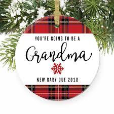amazon com you u0027re going to be a grandma ornament 2018 pregnancy