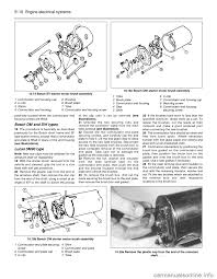 ford sierra 1986 1 g engine electrical systems workshop manual