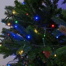 750 multi colour led treebrights with timer
