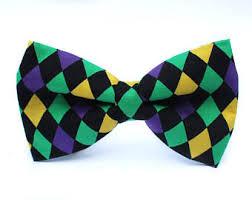 mardi gras bow ties mardi gras bow tie etsy