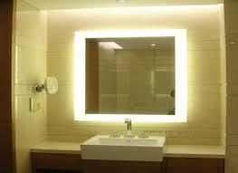 Backlit Mirrors Bathroom Backlit Vanity Mirror 18 Backlit Mirrors Bathroom Interior Design