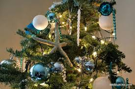 my ocean themed christmas tree lil bits of chic by paulina mo