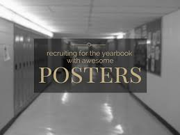 where can i buy a yearbook from my high school poster ideas for recruiting new members to your yearbook committee