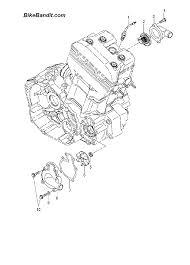 2006 polaris 500 predator a06gj50aa water pump a06gj50aa ab ac