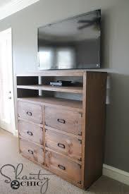 Dresser Diy Diy Media Storage Dresser Shanty 2 Chic