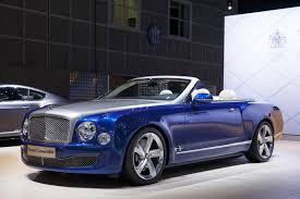 concept bentley only 19 bentley mulsanne grand convertibles will be made and none