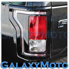 2015 ford f150 tail lights 15 16 ford f150 truck black taillight tail light trim bezel cover