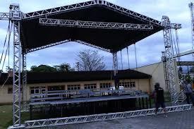 Super Palco e estrutura para festas e eventos Blumenau | Audio Mix Som e luz @JK58