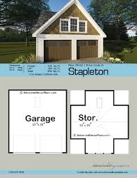 Craftsman Style Garage Plans by Craftsman Style Garage Plan Stapleton