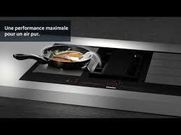 hotte cuisine siemens comment installer la table de cuisson avec ventilation intégrée de