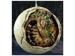 dinosaur hatching egg ornament shewalkssoftly
