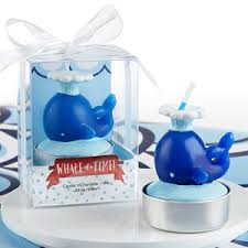 wedding favors candles nautical whale candle set of 4 baby shower candles baby