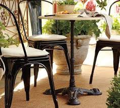 pottery barn bistro table bistro table pottery barn
