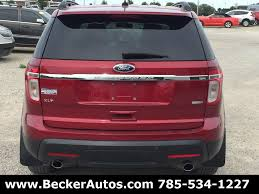 Ford Explorer Xlt 2013 - 2013 ford explorer awd xlt 4dr suv in beloit ks becker autos and