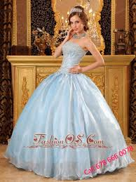 baby blue quinceanera dresses baby blue quinceanera dress strapless organza beading