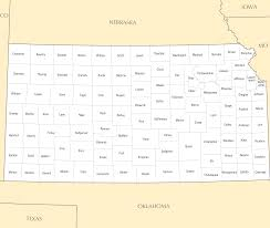 Blank Map Paper by Kansas Map Blank Political Kansas Map With Cities