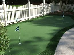 backyard putting green designs ideas about pictures with