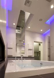 luxury bathroom themed feat agreeable blue led lights in bathroom