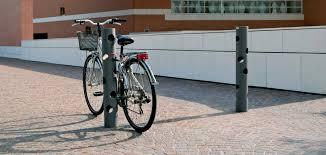 mikado tjado bollard bike rack id metalco inc