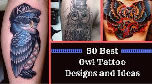 50 best owl tattoo designs and ideas png