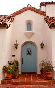 arched door on a spanish house looks so right spaces pinterest