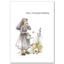 forgot your birthday humorous belated birthday card