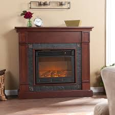oak electric fireplace tv stand laboratorioc3masd co