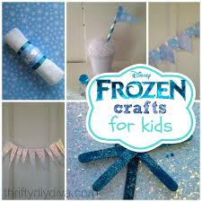 disney frozen crafts for kids on a budget