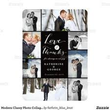 wedding photo collage thank you photo cards 1 25 exceptional