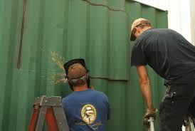 cutting windows in shipping containers rhino cubed