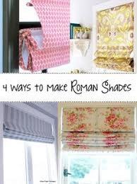 Make Your Own Window Blinds Learn How To Create Your Own Custom Roller Shades A Great No Sew