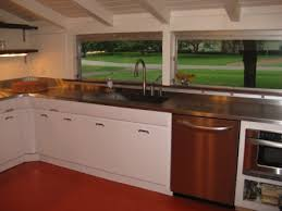 paint for metal kitchen cabinets all metal kitchen home decor and interior design