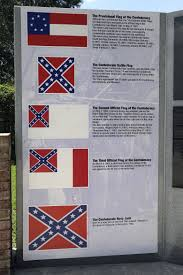Colors Of The Confederate Flag Huge Confederate Flag Near Interstate Is One Man U0027s Mission The