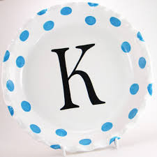 personalized pie plate ceramic polka dot pie dish personalized pie plate polka dot