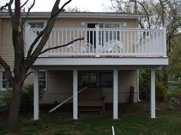 Second Floor Balcony Second Floor Deck Forked River Building Plans Online 31675