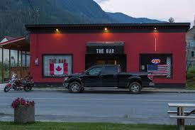 American Flag On Truck Hyder Alaska Life And Love On The International Border