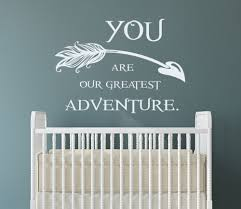 online get cheap wall decal arrow quote aliexpress com alibaba quote wall decal family kids vinyl sticker arrow decal for nursery bedroom china mainland