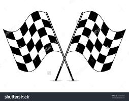 Checkered Flag Ribbon Clipart Checkered Flag Clipground